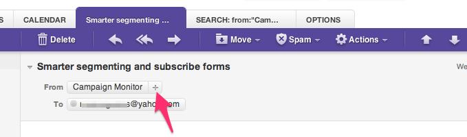 Email whitelisting Yahoo