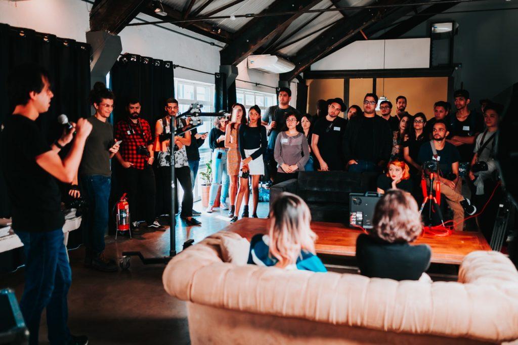 Lead generation through hosting events
